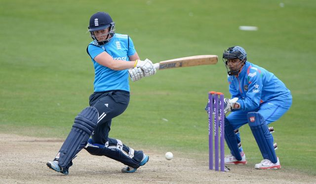 Heather Knight: Starred with bat and ball