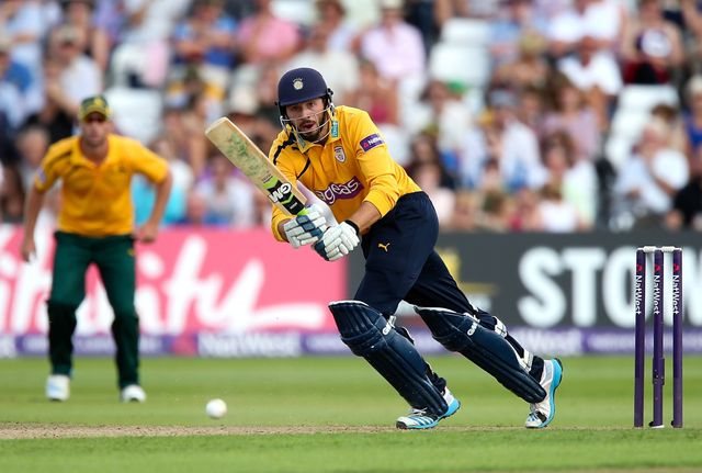 James Vince guided Hampshire to victory at Trent Bridge