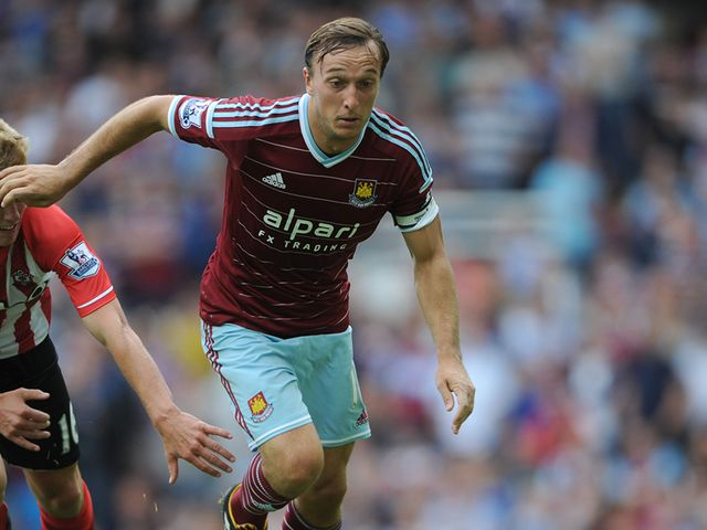 West Ham United's Mark Noble in action