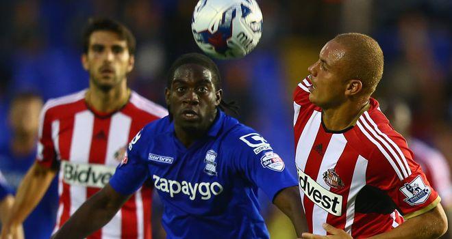 Clayton Donaldson: Challenges Sunderland defender Wes Brown