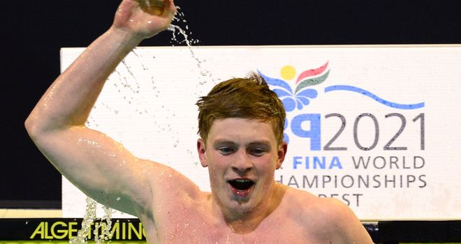 Adam Peaty: Clinched his third gold of the week at the European Championships