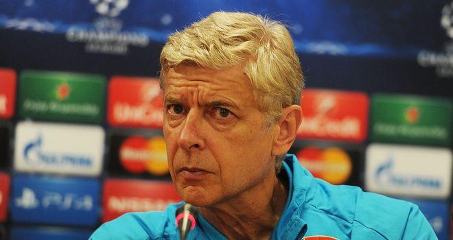 Arsene Wenger: Arsenal boss won't rush into buying a striker