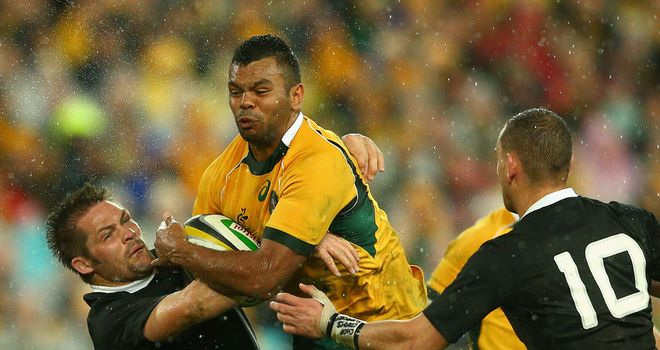 Kurtley Beale: Dropped for clash with South Africa