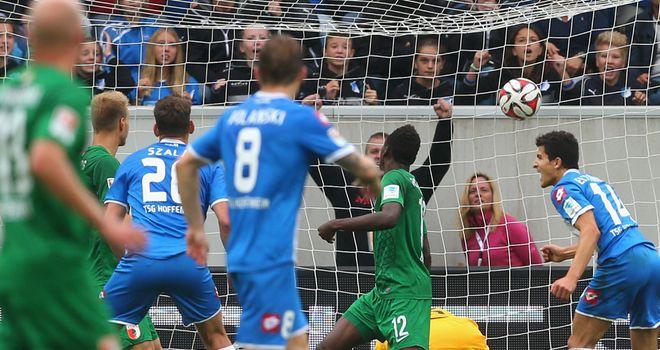 Adam Szalai scores for Hoffenheim
