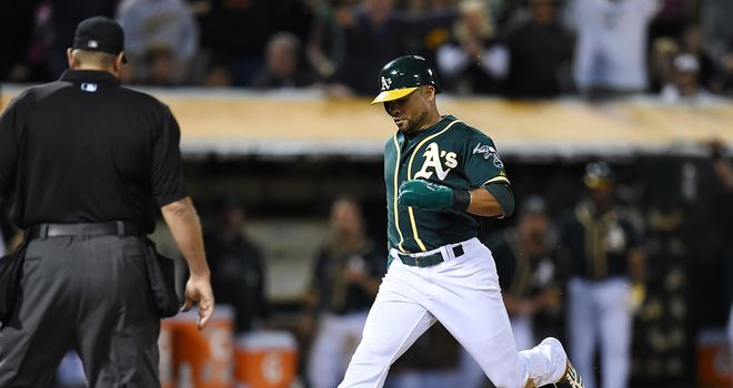 Coco Crisp: Made the decisive score from a wild pitch by Joe Smith