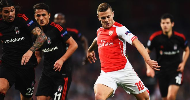 Jack Wilshere: Could have conceded penalty in first-half