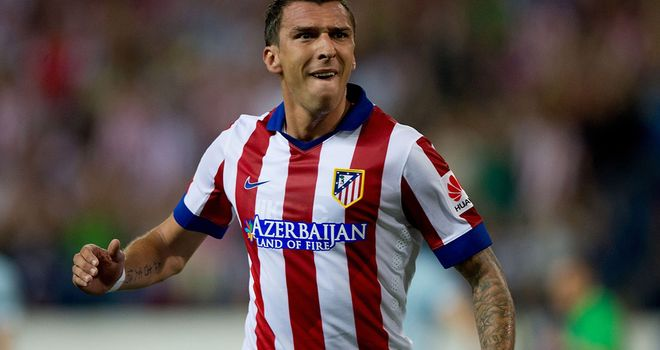 Mandzukic is not the same kind of player as Diego Costa, says Marcelino