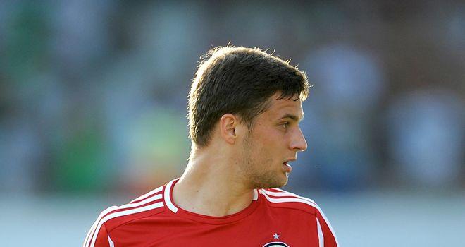 Bartosz Bereszynski of Legia Warsaw should not have played against Celtic last week