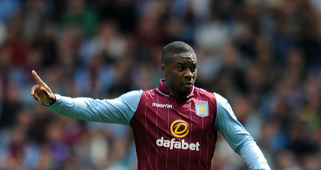 Charles N'Zogbia: Delighted to be back in action for Aston Villa