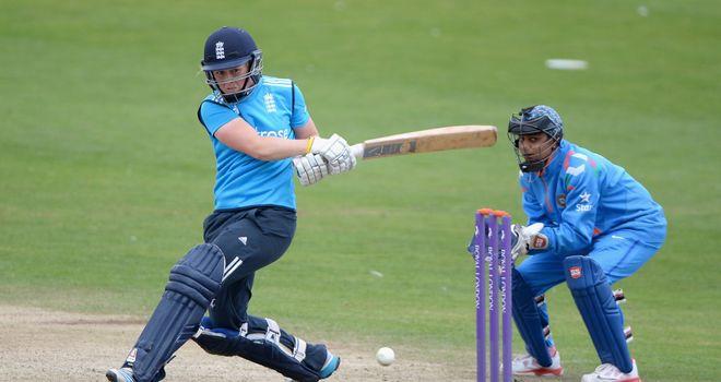Heather Knight: three wickets and a half-century