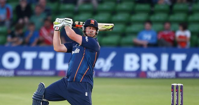 Jesse Ryder: New Zealander saw Essex to victory with 71 not out