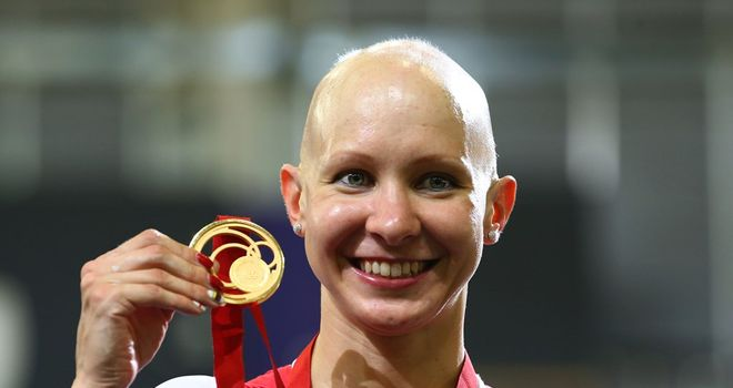 Joanna won gold in the individual pursuit at the Commonwealth Games in Glasgow