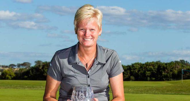 Trish Johnson: The 48-year-old makes Euro Tour history at Scottish Open
