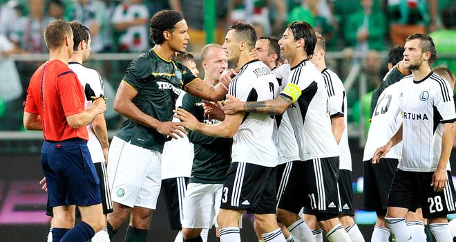 Legia Warsaw: Easily defeated Celtic on the pitch
