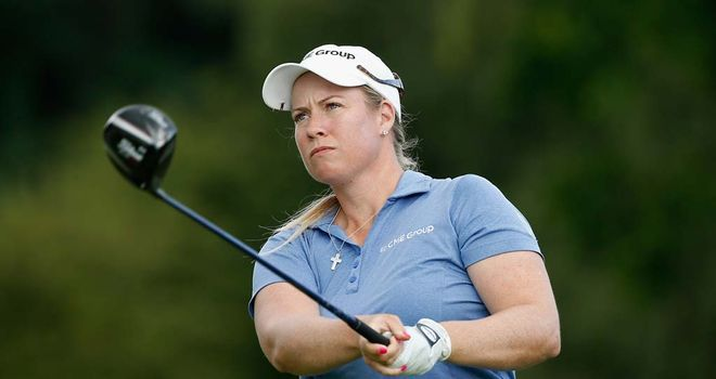 Brittany Lincicome: Three shots clear at Wegmans Championship