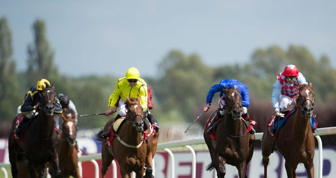 Seismos (front left) could run at the Curragh