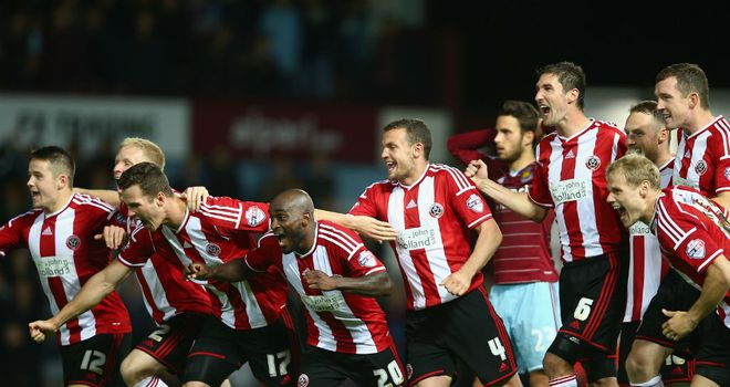 Sheffield United: Held their nerve at Upton Park