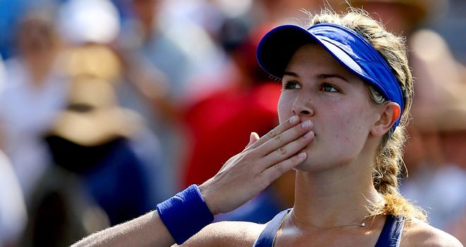 Eugenie Bouchard: Made it through another tough battle
