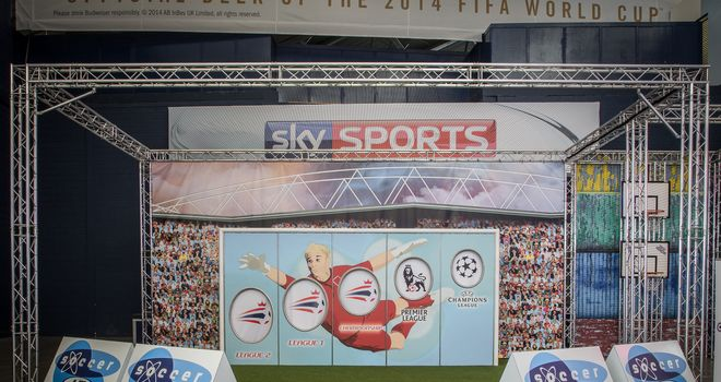 Soccer AM car park game is at The O2 until August 28