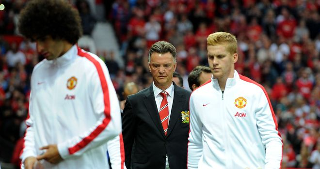Louis van Gaal: Will take Manchester United to MK Dons