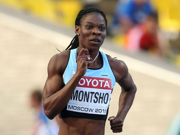 Amantle Montsho: Has failed a drugs test in Glasgow