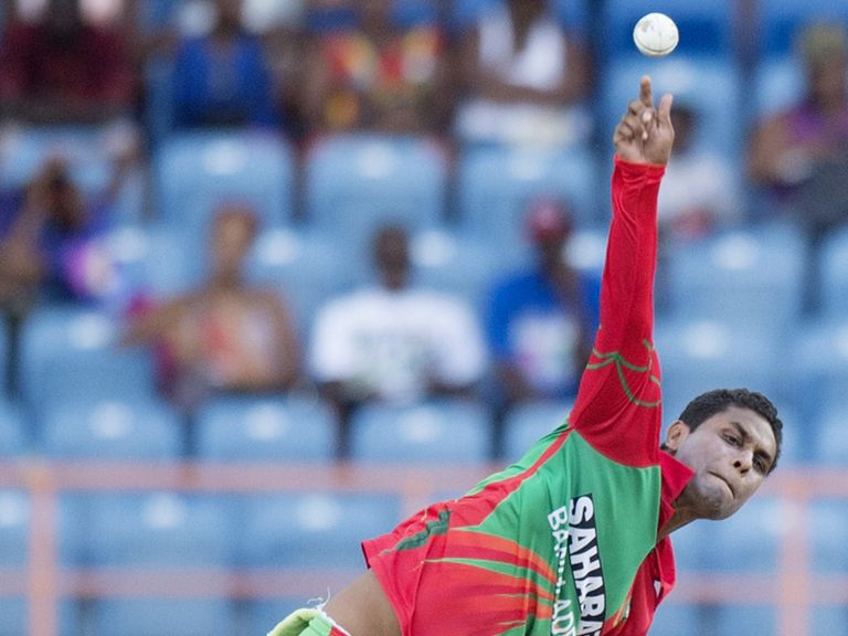 Bangladesh bowler Shohag Gazi has had his action reported