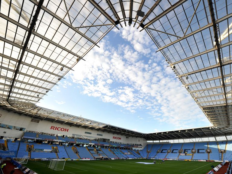 Coventry will return to the Ricoh Arena