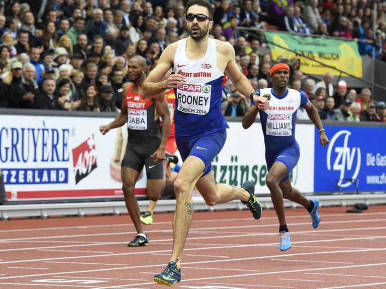 Martyn Rooney claims gold in Zurich