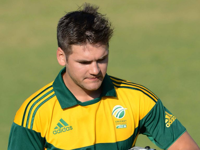Rilee Rossouw: Batsman could earn first senior South Africa cap