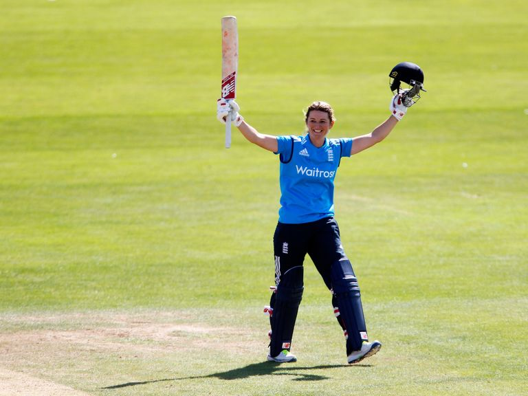 Charlotte Edwards: England captain celebrates her century
