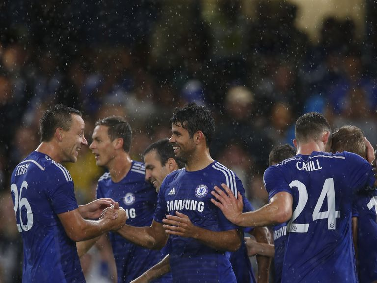 Diego Costa has impressed in pre-season with his new team