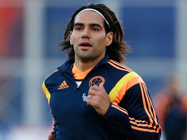 Radamel Falcao: Reportedly wanted by Liverpool and Juventus