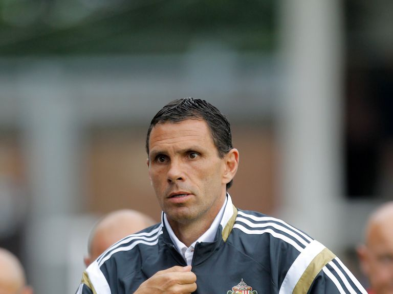 Gus Poyet: Looking to strengthen his Sunderland squad for the 2014/15 season.