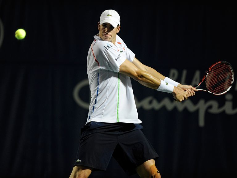 John Isner: Forced to withdraw