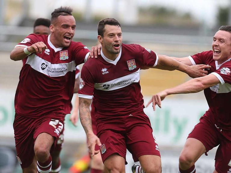 Northampton are tipped to win at Dagenham