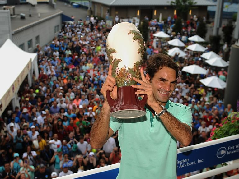 Roger Federer: Champion in Cincinnati. Can he win again in New York?