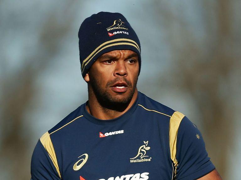 Kurtley Beale: Set to start for Australia against New Zealand
