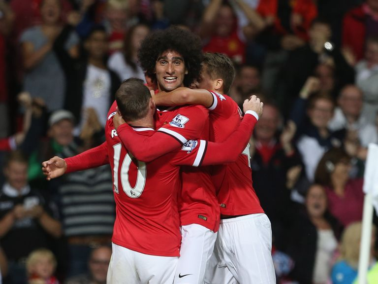 Fellaini: Scored Manchester United's winner