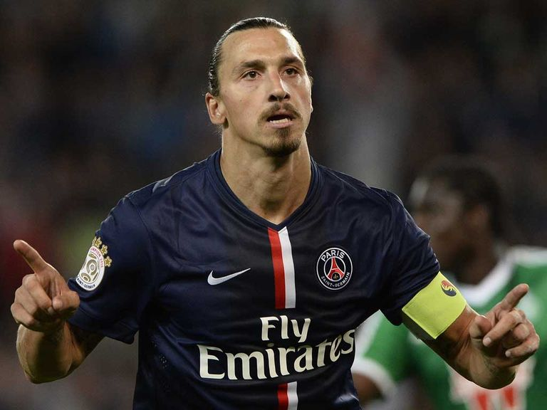 Zlatan Ibrahimovic inspired PSG to a big win