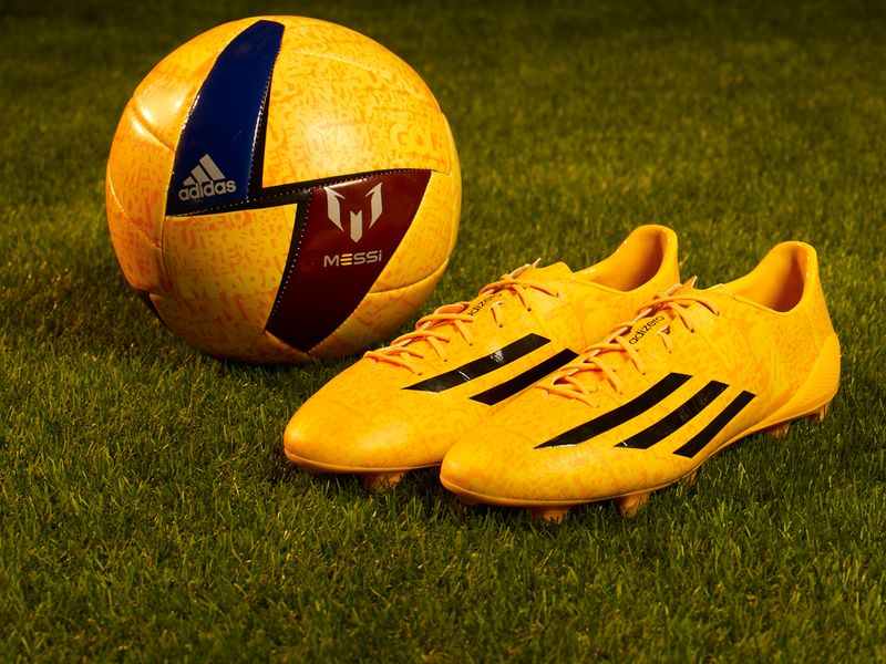 adidas messi yellow
