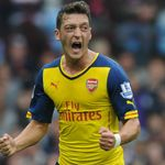 Mesut Ozil: Shone in his favoured role