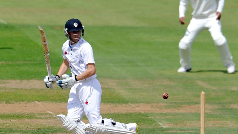 Ben Slater: Scored 65 for Derbyshire on the third day against Worcestershire