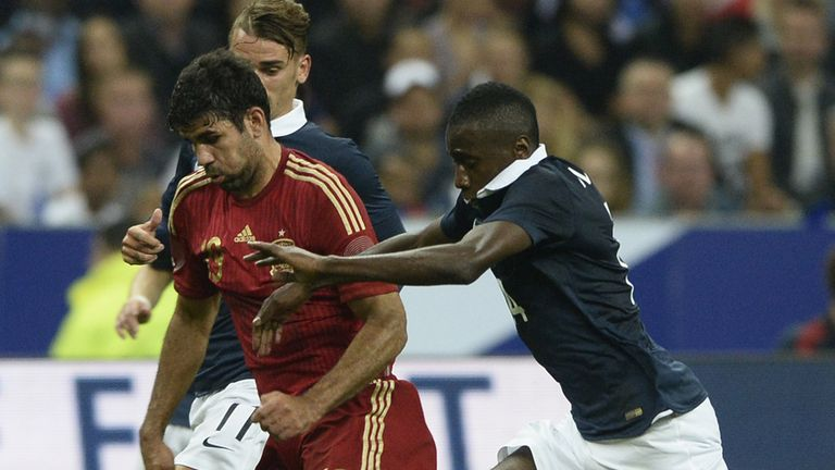 Costa: Chased by Matuidi