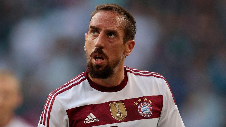 Franck Ribery played with Cisse at Marseille and now features for Bayern Munich
