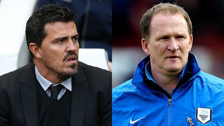 Oscar Garcia and Simon Grayson: Leeds contenders