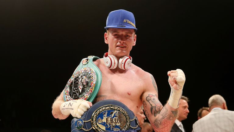 George Groves: Mandatory challenger for Badou Jack's WBC belt