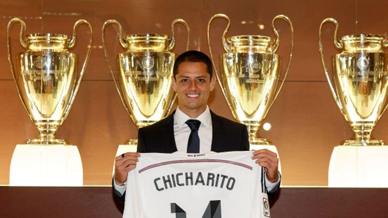 Javier Hernandez has joined Real Madrid on loan