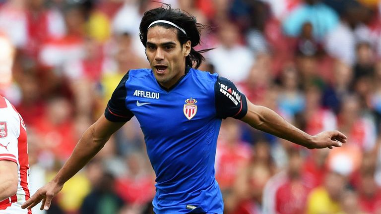Falcao scored nine goals in 17 Ligue 1 games for Monaco last term