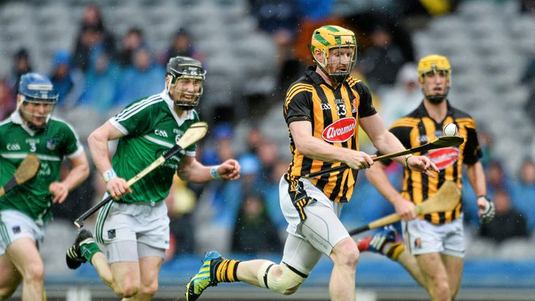 Richie Power in action during last month's semi-final win over Limerick