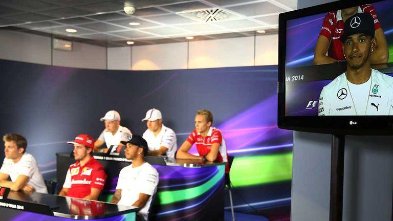 italian GP press conference
